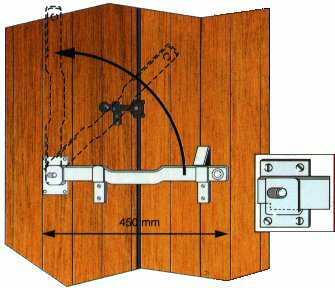 barre hercule pour volets. Black Bedroom Furniture Sets. Home Design Ideas
